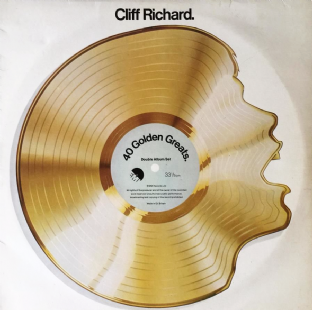 Cliff Richard - 40 Golden Greats (LP) (VG-VG)
